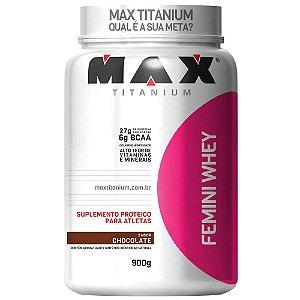 Whey Max Titanium Feminino 900g