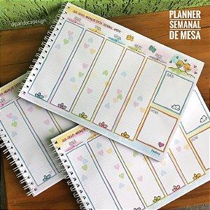 Planner  SEMANAL de Mesa