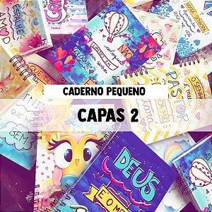 CADERNO PEQUENO - CAPAS 2