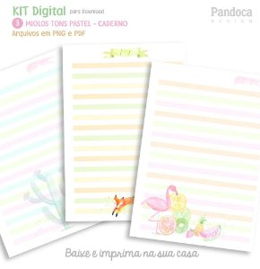 KIT DIGITAL - MIOLOS tom pastel