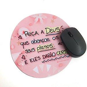 Mousepad Peça a Deus