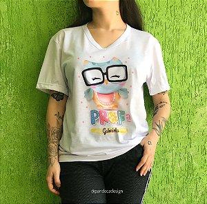 Camiseta PROFESSORA - Personalizável