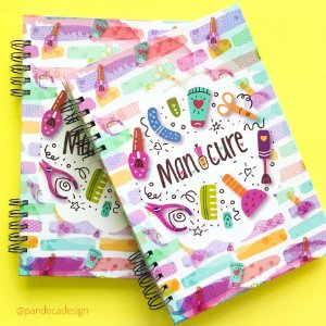 Caderno MANICURE