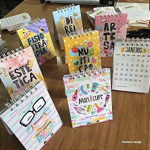 Calendário de mesa | PROFISSÕES