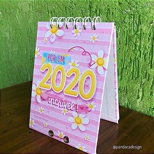 Calendário de Mesa | 2020 incrível