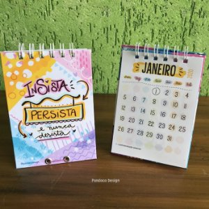 Calendário de Mesa | INSISTA