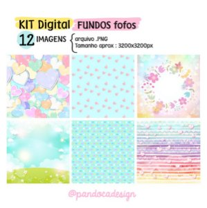 KIT DIGITAL | Fundos Fofos