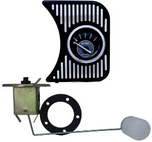 Painel Fusca L.D. Metal c/ Nível de Combustível Bege e Boia Sem Pescador | Cronomac
