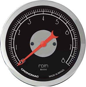 Contagiro 8000RPM ø100mm 2/4/6/8 Cil Hot Black | Cronomac