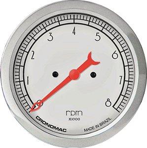 Contagiro 8000RPM ø100mm 2/4/6/8 Cil Hot Silver| Cronomac