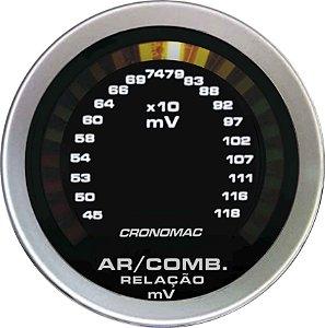 Hallmeter 52mm Milivolt Sport | Cronomac