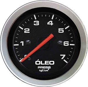 Manômetro Óleo 7KGF/CM² Mecânico ø52mm Sport   Cronomac