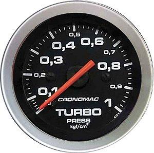Manômetro Turbo 1KGF/CM² ø52mm Sport | Cronomac