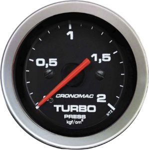 Manômetro Turbo 2KGF/CM² ø52mm Sport | Cronomac