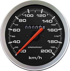 Velocímetro 200km/h ø100mm Sport | Cronomac