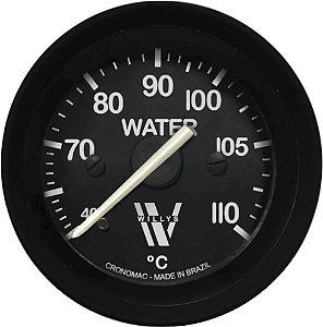 Termômetro Água ø52mm MECÂNICO Willys | Cronomac