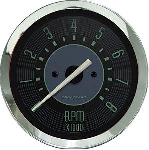 Contagiro 8000RPM ø100mm 2/4/6/8 Cil Fusca Verde| Cronomac