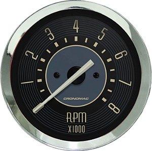 Contagiro 8000RPM ø85mm 2/4/6/8 Cil Fusca Bege | Cronomac