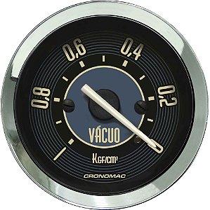 Vacuômetro Com Faixa ø52mm Fusca Bege Cronomac