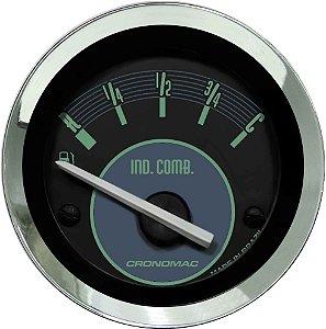 Indicador Nível de Combustível ø52mm 097 Fusca Verde | Cronomac