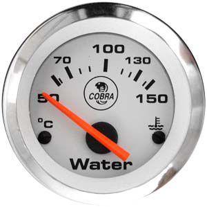 Termômetro Água ø52mm 12V com Sensor Cobra | Cronomac