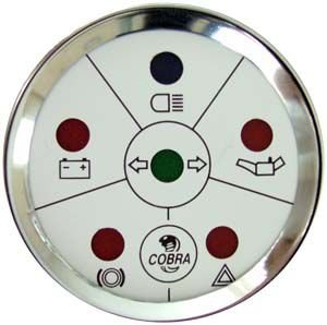 Sinaleira de Funções ø52mm Cobra | Cronomac