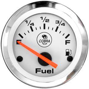 Indicador Nível de Combustível ø52mm Cobra | Cronomac