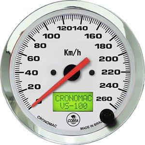 Velocímetro 200km/h ou 260km/hø100mm Eletrônico Cobra | Cronomac