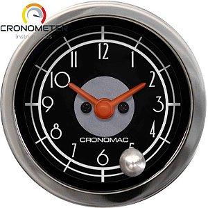 Relógio de Horas ø52mm - Hot Rod Black   Cronomac