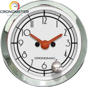 Relógio de Horas ø52mm - Hot Rod Silver | Cronomac