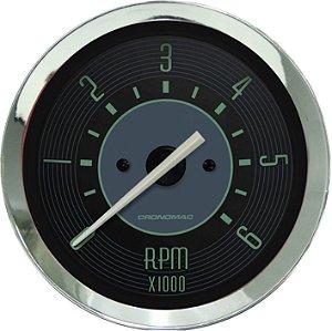 Contagiro 6000RPM ø100mm 2/4/6/8 Cil Fusca Verde| Cronomac