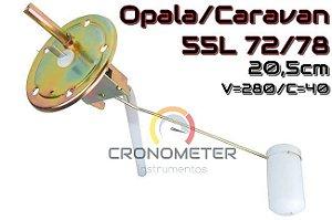 Boia Combustível OPALA/CARAVAN 55L 72>78 S/ Retorno C=40/V=280 20,5CM