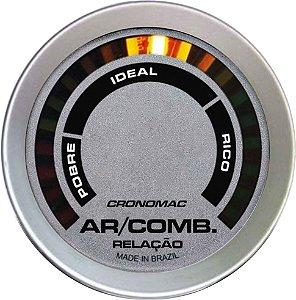 Hallmeter 52mm Racing com Faixa| Cronomac