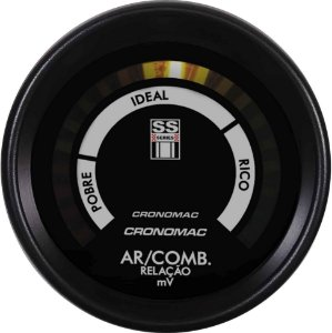 Hallmeter 60mm Faixa Opala SS Series | Cronomac