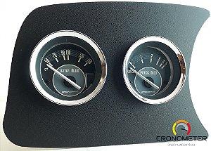 Painel Fusca L.E. Pressão do Óleo 5kgf COM Sensor/Temperatura do Óleo com sensor - Bege| Cronomac