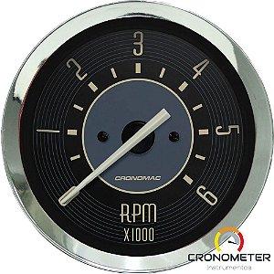 Contagiro 6000RPM ø85mm 2/4/6/8 Cil Fusca Bege | Cronomac