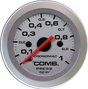 Manômetro Combustível 1KGF/CM² ø52mm Racing| Cronomac