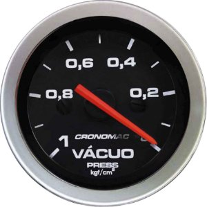 Vacuômetro Sem Faixa ø52mm Sport | Cronomac
