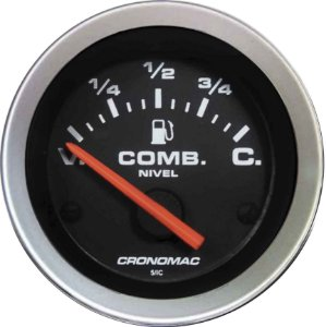 Indicador Nível de Combustível ø52mm 475 Sport| Cronomac