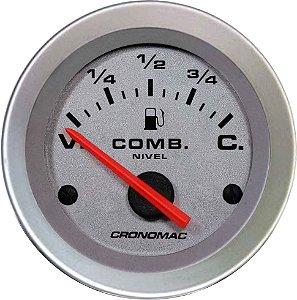 Indicador Nível de Combustível ø52mm 099 Racing | Cronomac