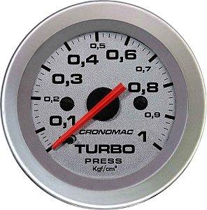 Manômetro Turbo 1KGF/CM² ø52mm Racing | Cronomac