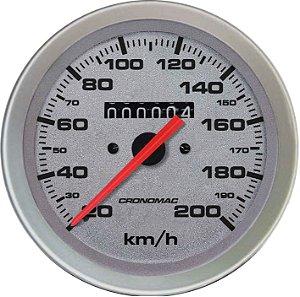 Velocímetro 200km/h ø100mm Racing | Cronomac