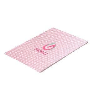 Papel Perolizado Bolinha Rosa 180G C/ 20 Folhas A4