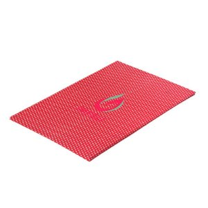 Papel Perolizado Bolinha Vermelho 180G C/ 20 Folhas A4