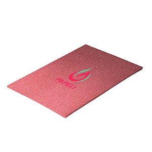 Papel Glitter Liso 90g A4 c/ 5 Folhas (Vermelho)