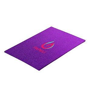 Papel Glitter Liso 90g A4 c/ 5 Folhas (Roxo)