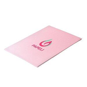 Papel Color Plus - Rosa Bebê 180g - A4 - 20 Folhas (Rosa Verona)