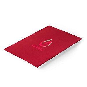Papel Color Plus - Vermelho Tomate 180g - A4 - 20 Folhas (Tóquio)