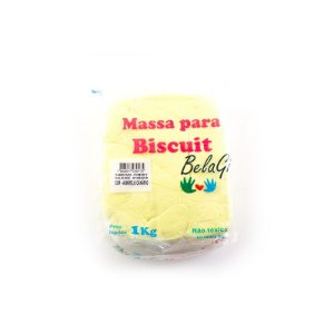 Massa para Biscuit Amarelo Canário 1kg