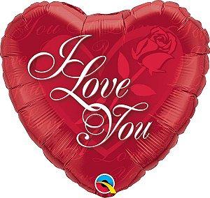 Eu Te Amo com Rosa Vermelha